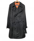 AVIREX(アヴィレックス)の古着「中綿ナイロンコート」|ブラック