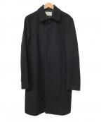 EDIFICE(エディフィス)の古着「ウール混コート」|ブラック