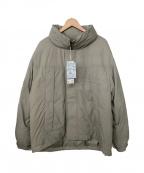 RAGEBLUE(レイジブルー)の古着「中綿ジャケット」|グレー