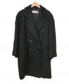 Christian Dior(クリスチャン ディオール)の古着「ダブルコート」|ブラック