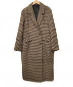 ELENDEEK(エレンディーク)の古着「チェスターコート」 ブラウン