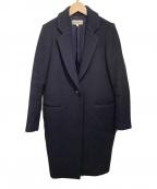 ENFOLD(エンフォルド)の古着「ライトメルトンテーラーコート」|ネイビー