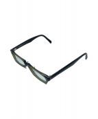 ()の古着「眼鏡フレーム」|オリーブ