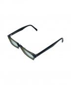 PRADA(プラダ)の古着「眼鏡フレーム」|オリーブ