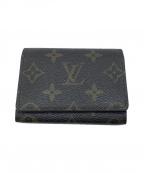 LOUIS VUITTON(ルイ ヴィトン)の古着「カードケース」|ブラウン