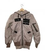 DIESEL()の古着「ボンバージャケット」|ピンク