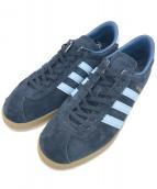 adidas(アディダス)の古着「トレーニングシューズ」 ネイビー