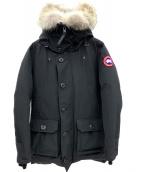 CANADA GOOSE(カナダグース)の古着「ブルックフィールドパーカージャケット」|ブラック