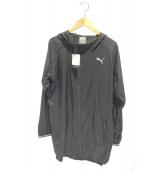 PUMA(プーマ)の古着「NRBライトジャケット」|ブラック