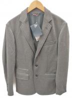 le coq sportif(ルコックスポルティフ)の古着「ニットジャージジャケット」|グレー