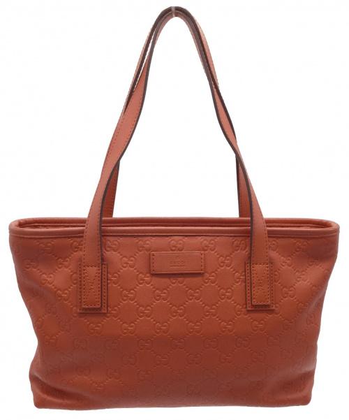 GUCCI(グッチ)GUCCI (グッチ) ハンドバッグ オレンジ サイズ:- グッチシマ 211138の古着・服飾アイテム