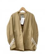 le coq sportif(ルコックスポルティフ)の古着「ストレッチテーラードジャケット」|アイボリー