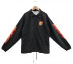 SANTA CRUZ(サンタクルーズ)の古着「コーチジャケット」 ブラック