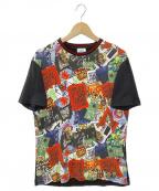 Vivienne Westwood man()の古着「MANPROTEST 半袖Tシャツ」 ブラック×レッド