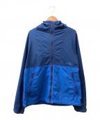 THE NORTH FACE(ザ ノース フェイス)の古着「コンパクトジャケット」|ネイビー×ブルー