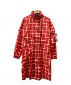le coq sportif(ルコックスポルティフ)の古着「レインワンピース」|レッド