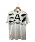 EMPORIO ARMANI EA7(エンポリオアルマーニ イーエーセブン)の古着「Tシャツ」|ホワイト