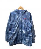 Columbia(コロンビア)の古着「ワバシュウィメンズパターンドジャケット」|ブルー×ホワイト