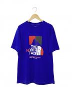 THE NORTH FACE()の古着「Tシャツ」|ブルー