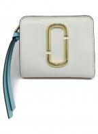 MARC JACOBS()の古着「2つ折り財布」|ホワイト×レッド