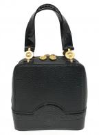 VERSACE(ヴェルサーチ)の古着「サンバーストハンドバッグ」|ブラック