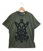 MONCLER(モンクレール)の古着「MAGLIA T-SHIRT」|グリーン