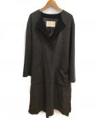 qualite(カリテ)の古着「ウールローブコート」|グレー