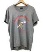 TMT(ティーエムティー)の古着「半袖Tシャツ」|ライトグレー