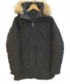 CANADA GOOSE(カナダグース)の古着「バンクーバージャケット」|ブラック