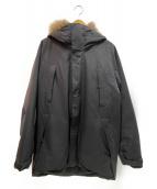 GOLDWIN(ゴールドウィン)の古着「ダウンマウンテンコート」|ブラック