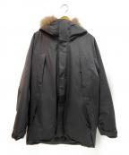 GOLDWIN()の古着「ダウンマウンテンコート」|ブラック