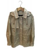 ()の古着「ナイロンコート」|ベージュ