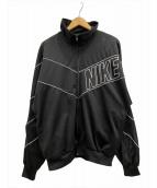 NIKE(ナイキ)の古着「[古着]90sトラックジャケット」|ブラック