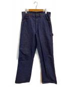 BLUE BELL(ブルーベル)の古着「[古着]70s ペインターパンツ」 インディゴ