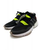 adidas(アディダス)の古着「スニーカー」|ブラック×グリーン