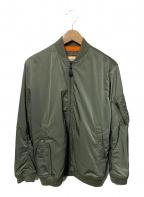 Denim & Supply Ralph Lauren(デニム&サプライ ラルフローレン)の古着「MA-1ジャケット」|セージグリーン