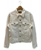 LEVIS(リーバイス)の古着「3rd デニムジャケット」|ホワイト
