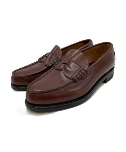 REGAL(リーガル)REGAL (リーガル) コインローファー ブラウン サイズ:25EE 2177の古着・服飾アイテム