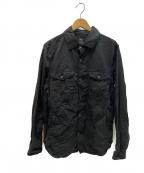 save khaki united(セーブカーキユナイテッド)の古着「ユーティリティシャツ」|ブラック