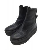 PUMA(プーマ)の古着「スニーカーブーツ」|ブラック