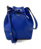 MICHAEL KORS COLLECTION(マイケルコースコレクション)の古着「巾着ショルダーバッグ」|ブルー