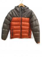 Lowe Alpine(ロウアルパイン)の古着「ダウンジャケット」 グレー×オレンジ