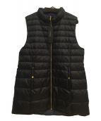 mittente(ミッテンテ)の古着「ノースリーブコート」|ブラック