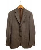 TOMORROW LAND PILGRIM(トゥモローランドピルグリム)の古着「セットアップスーツ」|ブラウン