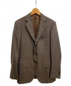TOMORROW LAND PILGRIM(トゥモローランド ピルグリム)の古着「セットアップスーツ」|ブラウン