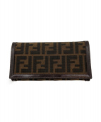 FENDI(フェンディ)の古着「長財布」|ブラウン