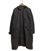 GOLDWIN(ゴールドウィン)の古着「モッズコート」|ブラック