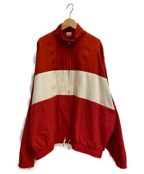 MAISON EUREKA(メゾンエウレカ)MAISON EUREKA (メゾンエウレカ) SUMMER SHELL SUIT TOP レッド サイズ:Mの古着・服飾アイテム