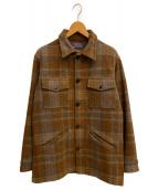 PENDLETON(ペンドルトン)の古着「[古着]70-80s ウールジャケット」 ブラウン