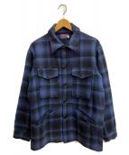 PENDLETON(ペンドルトン)の古着「[古着]70-80s ウールジャケット」 ブルー